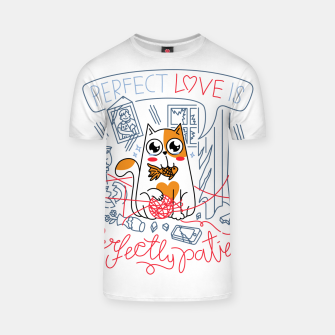 Miniatur Perfect Love is Perfectly Patient T-shirt, Live Heroes