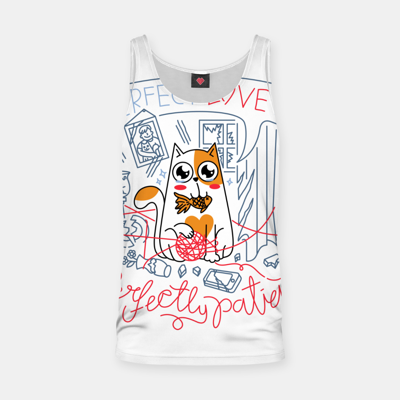 Image de Perfect Love is Perfectly Patient Tank Top - Live Heroes