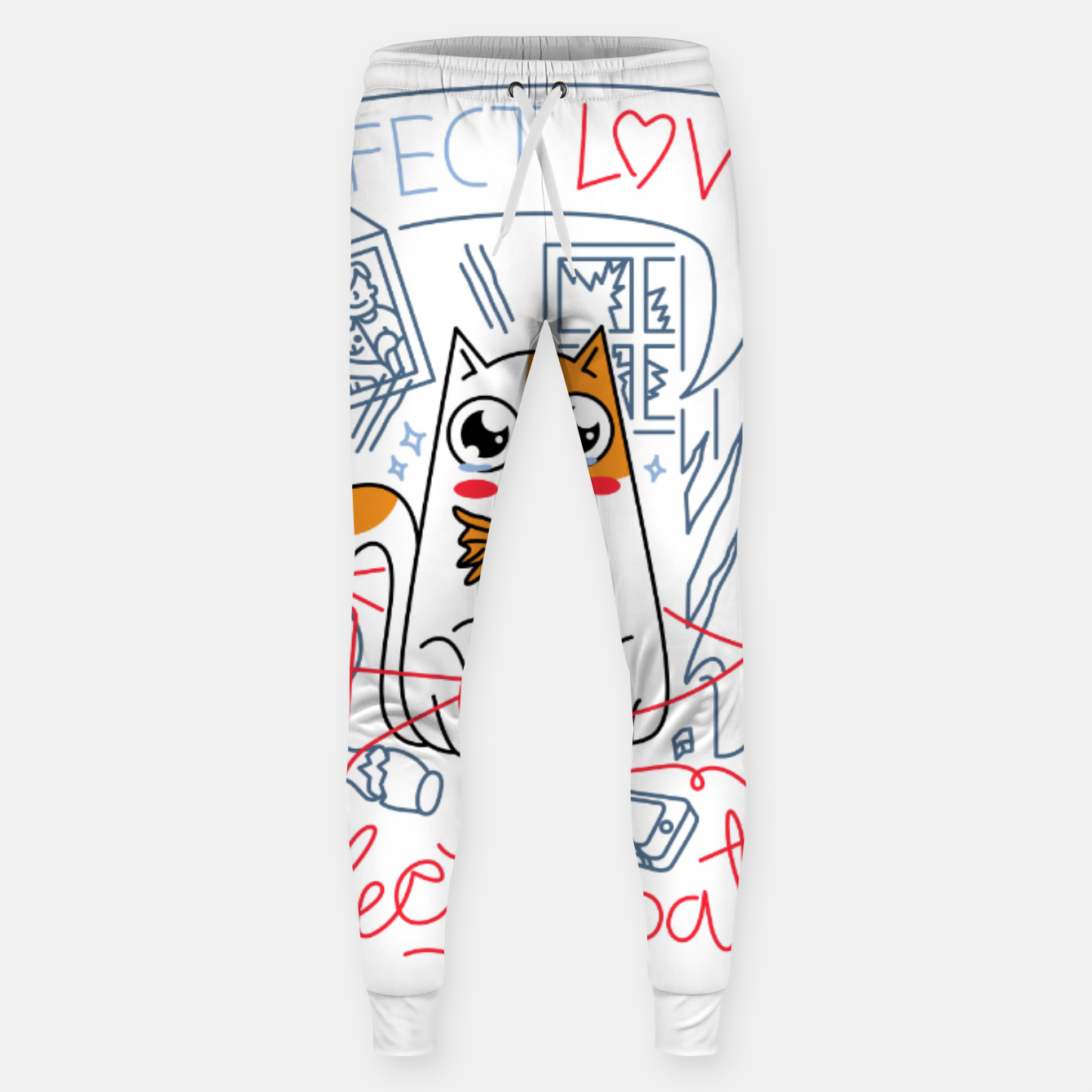 Image de Perfect Love is Perfectly Patient Sweatpants - Live Heroes