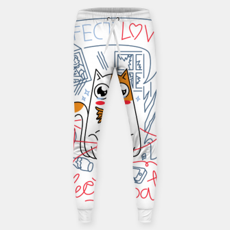 Miniature de image de Perfect Love is Perfectly Patient Sweatpants, Live Heroes