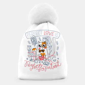 Miniature de image de Perfect Love is Perfectly Patient Beanie, Live Heroes