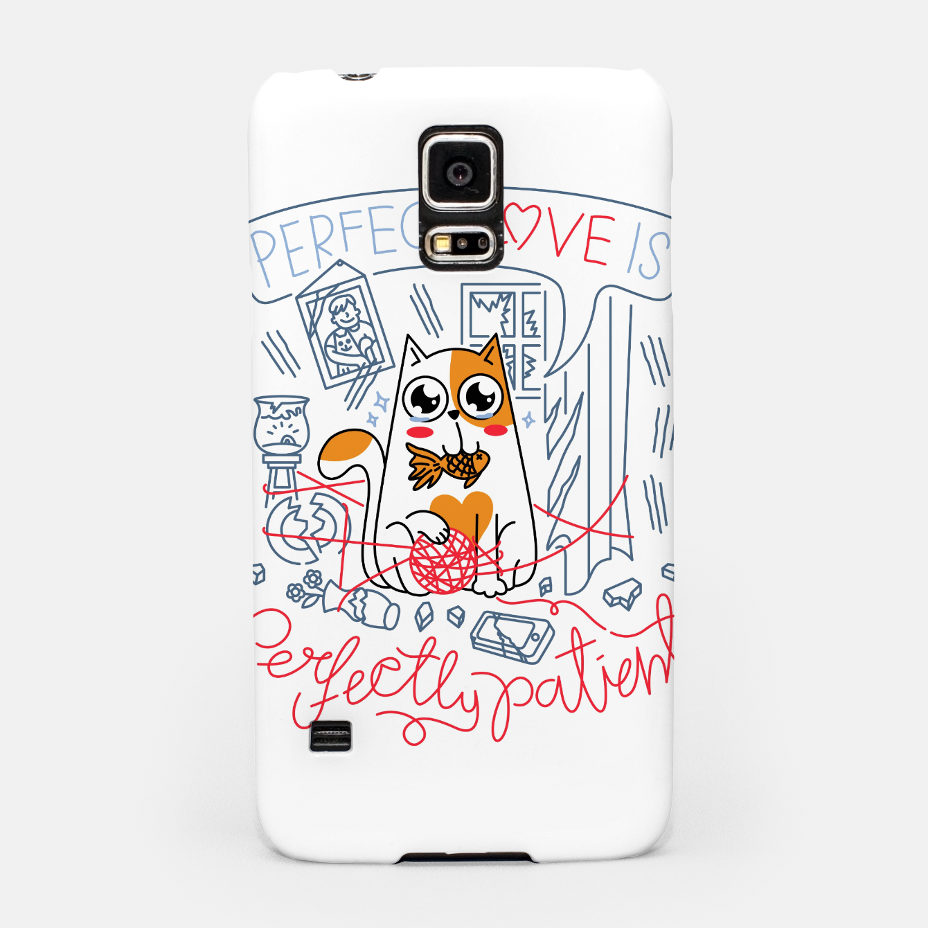 Image de Perfect Love is Perfectly Patient Samsung Case - Live Heroes