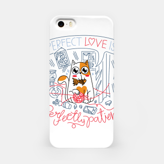 Imagen en miniatura de Perfect Love is Perfectly Patient iPhone Case, Live Heroes