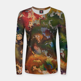 Thumbnail image of Colors Collide  Frauen sweatshirt, Live Heroes