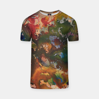 Thumbnail image of Colors Collide  T-Shirt, Live Heroes