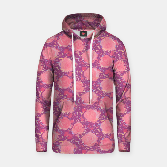 Roses in pearly purple light Hoodie thumbnail image