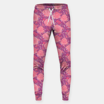 Miniatur Roses in pearly purple light Sweatpants, Live Heroes