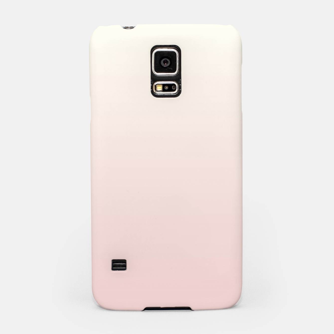 Image of Pastel pink beige duotone gradient ombre summer stylish color pure soft light blush monochrome Samsung Case - Live Heroes