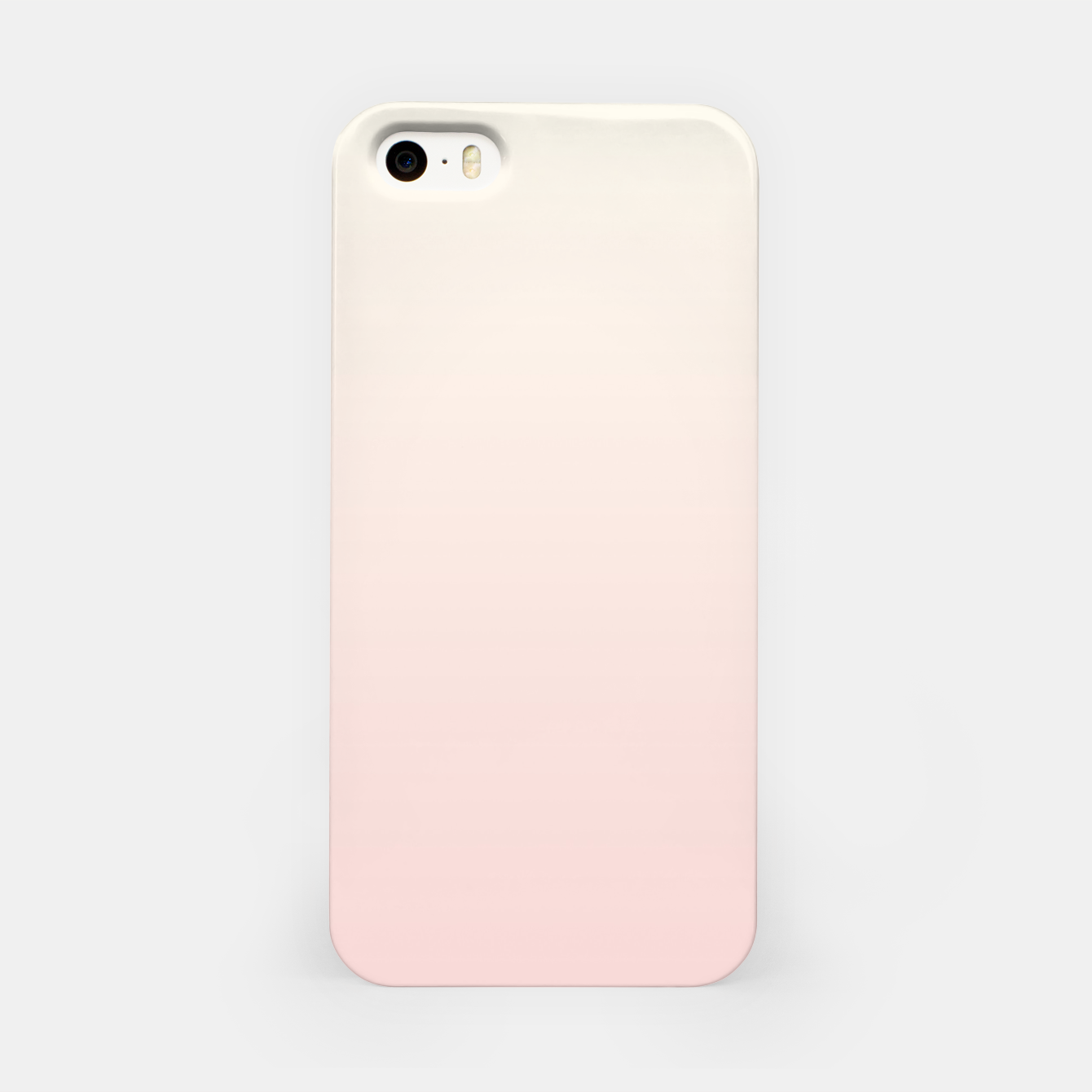 Image of Pastel pink beige duotone gradient ombre summer stylish color pure soft light blush monochrome iPhone Case - Live Heroes