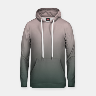 Thumbnail image of Pastel pink dark green black gradient ombre stylish color pure soft modern monochrome Hoodie, Live Heroes
