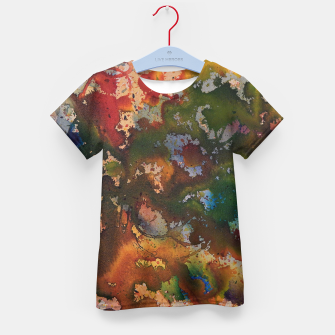 Thumbnail image of Colors Collide  T-Shirt für kinder, Live Heroes