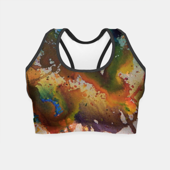 Thumbnail image of Colors Collide  Crop Top, Live Heroes