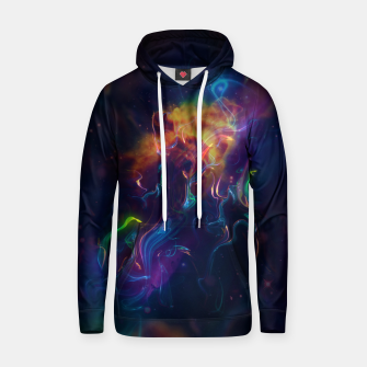Thumbnail image of Space smoke Hoodie, Live Heroes