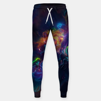 Space smoke Sweatpants obraz miniatury