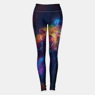 Space smoke Leggings obraz miniatury