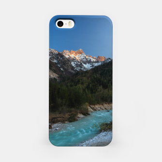 Thumbnail image of Magical sunset over the mountains and river iPhone Case, Live Heroes