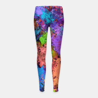 Thumbnail image of Close to the water Girl's leggings, Live Heroes