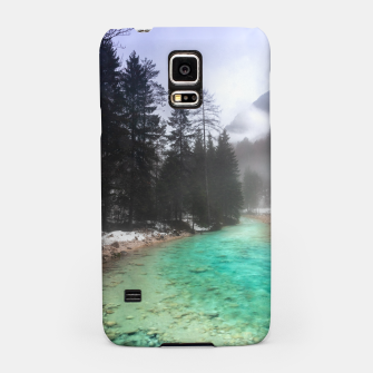Miniatur Turquoise water in Mojstrana, Slovenia Samsung Case, Live Heroes