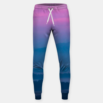 Imagen en miniatura de Bright clouds and moon at sunrise Sweatpants, Live Heroes