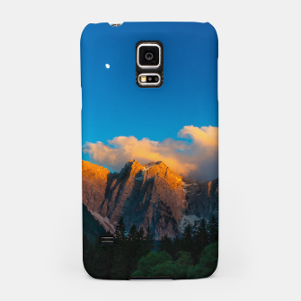 Thumbnail image of Amazing sunset at lago Di Fusine, Italy Samsung Case, Live Heroes