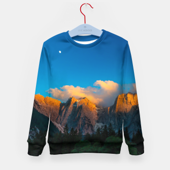 Imagen en miniatura de Amazing sunset at lago Di Fusine, Italy Kid's sweater, Live Heroes