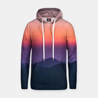 Thumbnail image of Sunset layers Hoodie, Live Heroes