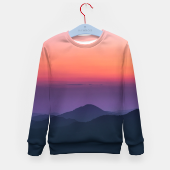 Imagen en miniatura de Sunset layers Kid's sweater, Live Heroes