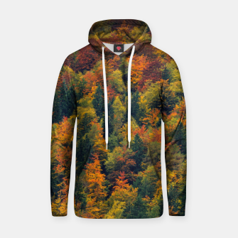 Thumbnail image of Stunning autumn forest Hoodie, Live Heroes