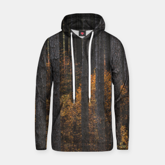 Thumbnail image of Trees and gold autumn foliage Hoodie, Live Heroes