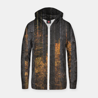 Thumbnail image of Trees and gold autumn foliage Zip up hoodie, Live Heroes
