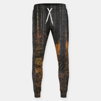 Thumbnail image of Trees and gold autumn foliage Sweatpants, Live Heroes