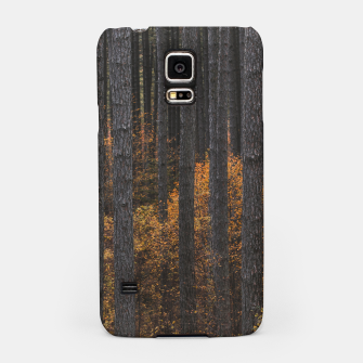 Miniaturka Trees and gold autumn foliage Samsung Case, Live Heroes