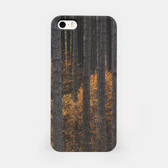 Miniature de image de Trees and gold autumn foliage iPhone Case, Live Heroes