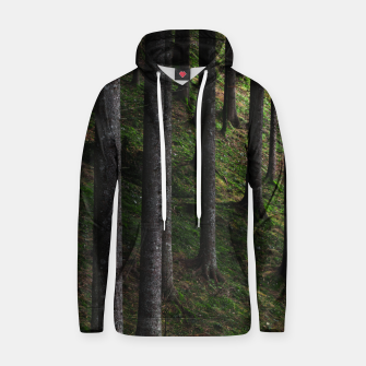 Thumbnail image of Trees and green moss Hoodie, Live Heroes
