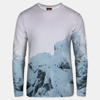 Thumbnail image of Cloudy sky mountain sunset Unisex sweater, Live Heroes