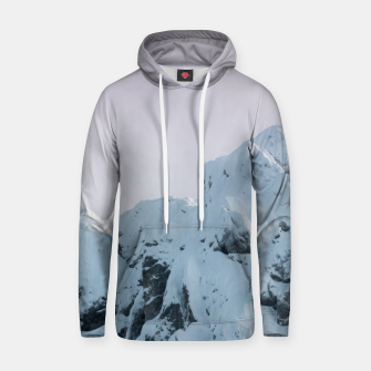 Thumbnail image of Cloudy sky mountain sunset Hoodie, Live Heroes