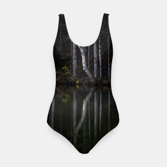 Miniature de image de White trees reflecting in lake Swimsuit, Live Heroes