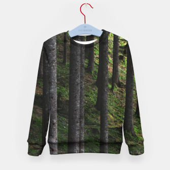 Imagen en miniatura de Trees and green moss Kid's sweater, Live Heroes