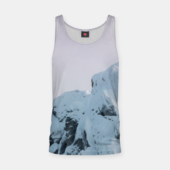 Thumbnail image of Cloudy sky mountain sunset Tank Top, Live Heroes