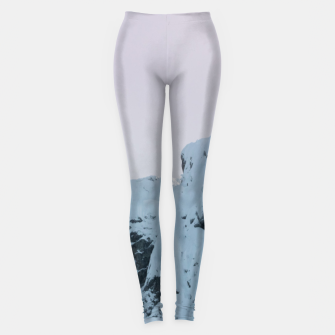 Thumbnail image of Cloudy sky mountain sunset Leggings, Live Heroes