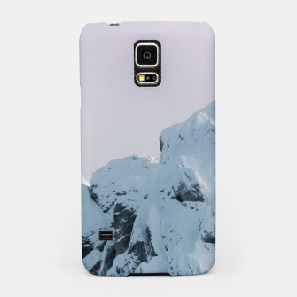 Thumbnail image of Cloudy sky mountain sunset Samsung Case, Live Heroes