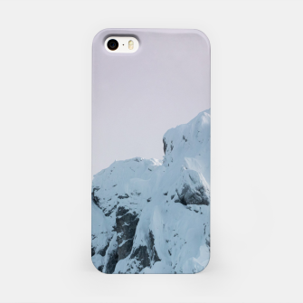 Thumbnail image of Cloudy sky mountain sunset iPhone Case, Live Heroes