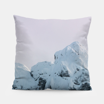 Thumbnail image of Cloudy sky mountain sunset Pillow, Live Heroes