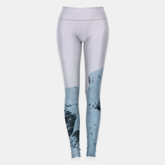 Miniatur Cloudy sky mountain sunset Leggings, Live Heroes