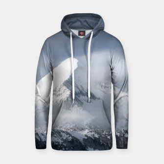 Thumbnail image of Misty clouds over mountain Grintovec, Slovenia Hoodie, Live Heroes