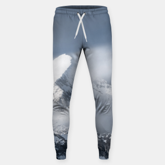 Thumbnail image of Misty clouds over mountain Grintovec, Slovenia Sweatpants, Live Heroes