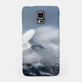 Thumbnail image of Misty clouds over mountain Grintovec, Slovenia Samsung Case, Live Heroes
