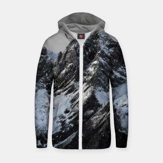 Thumbnail image of The mountain Zip up hoodie, Live Heroes