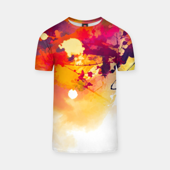 Thumbnail image of Paint splattered t-shirt , Live Heroes
