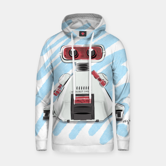 Thumbnail image of 80s Robot Hoodie, Live Heroes